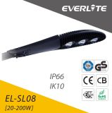 TUV GS ENEC IEC 콜럼븀 세륨 승인되는 40-200W 옥외 120lm/W 200W 150W 100 와트 모듈 LED 가로등