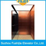 安全及び低雑音の乗客のエレベーター