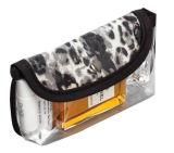 Bolsos cosméticos de la bolsa del regalo del PVC de la promoción clara del perfume