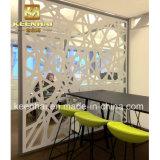 Aço inoxidável decorativo cortado laser moderno Mashrabiya de projeto