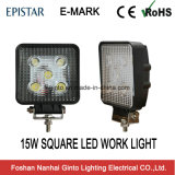 Emark 5PCS*3W quadratisches Epistar 15W LED Arbeits-Licht (GT2010-15W)