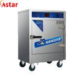 Плита коммерчески автоматических продуктов моря распаровщика брызга воды Steaming с запечатыванием кремния