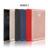 Huile sur toile métallique PC Cas net pour le Nokia 3