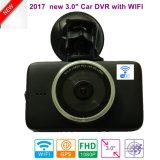 Novo 3.0Inch o Full HD1080p Carro Gravador de Vídeo Digital Caixa Preta com 2.4G WiFi, 5.0Mega Sony Car DVR, melhor visão nocturna Câmara Dash
