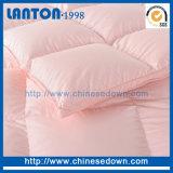 Trapunta bianca organica dell'hotel della doppia base del tessuto di cotone del Manufactory