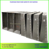 Gabinete de la ranura de la fabricación de corte por láser precisa de piezas de estampación de chapa metálica