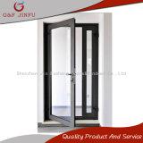 Portello di entrata di alluminio della stoffa per tendine di vetro Tempered del doppio di profilo della rottura termica
