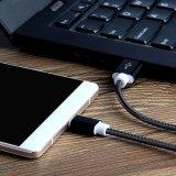 Зарядный кабель данным по USB весны металла микро- быстрый для края галактики S7 Samsung