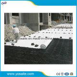 PET/PP no tejida de fibra corta Geotextile