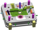 Molde de fundição de moldes de alta pressão com o sistema da máquina de vácuo