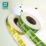 Escritura de la etiqueta auta-adhesivo de encargo de la etiqueta engomada del producto de la impresión, etiqueta autoadhesiva adhesiva, impresión de la etiqueta engomada del rodillo de la escritura de la etiqueta