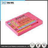 Het kleurrijke Stuk speelgoed van het Toetsenbord van de Baby van de Knoop van de Correcte Opname Muzikale Elektronische