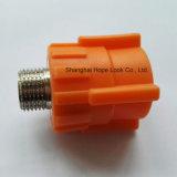 Accessorio per tubi arancione di alta qualità PPR - accoppiamento femminile arancione di PPR
