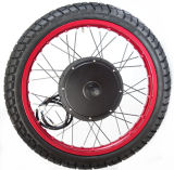 kit grasso Gearless senza spazzola del motore della gomma di 72-96V 5000W con la visualizzazione di TFT