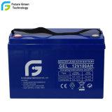 12V 100Ah plomb-acide à cycle profond de la batterie de stockage pour l'énergie solaire