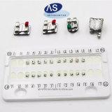 歯科歯の345hooksの歯科矯正学の金属のRothブラケット