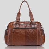 Bwf les sacs à main de 1-212 d'European&American de mode d'Ordinateur-Sac d'épaule de sac d'Un-Couche-Peau de vache hommes de cuir