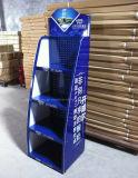 China-Lieferanten-hohe Kapazitäts-Metallmaterieller Joghurt-Getränk-Fußboden-Ausstellungsstand