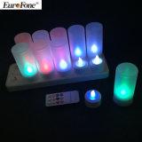 Indicatore luminoso della candela di telecomando 12PCS LED