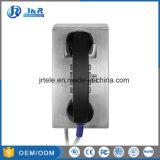 Analógico resistente/SIP de la cárcel de los teléfonos con el botón de Control de volumen y cuerpo de acero inoxidable