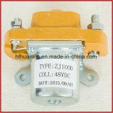 Contattore 100A del contattore 12V 24V 36V di Zj100d