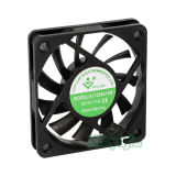 6010 Energien-Jahr-Miniruhe des 60X60X10mm Gleichstrom-schwanzloses Kühlventilator-5V 12V für Haushaltsgerät