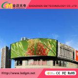 Visualización de LED al aire libre del vídeo de la calidad estupenda P6mm Digitaces para hacer publicidad