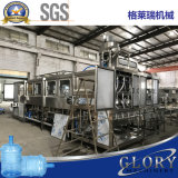 Завод автоматической чисто воды 600bph разливая по бутылкам для бочонка 20L