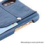 Кожаный задняя сторона обложки с iPhone x аргументы за телефона владельца карточки