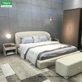 현대 가정 가구 진짜 가죽 침실 세트 (BS103)