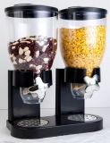 Distribuidor seco do alimento do distribuidor do cereal do recipiente da cozinha da caixa de armazenamento do alimento