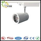 LED de 20 W Tracklight populares com bela Shell 20W COB via luz interna direcionável