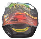 Pega de plástico OEM Doypack Bico Líquido Embalagem