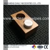 Cassetti di bambù della casella per i tovaglioli appiattiti