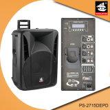 15 дюймов 350W цифров AMP Bluetooth EQ для диктора PS-2715depd PA Active iPod пластичного