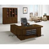Büro-Möbel-Luxuxbüro-hölzerner vollziehendschreibtisch Yf-3212