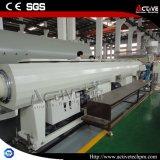 Linha de extrusão do tubo corrugado de PVC/linha de extrusão do tubo