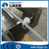 ligne de tissu-renforcé d'extrusion de boyau de PVC de plastique de 9-50mm
