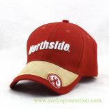 boné de beisebol do chapéu de basebol do chapéu do esporte do Twill do algodão de 3D Embriodery