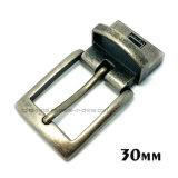 A curvatura de correia reversível do Pin da curvatura da liga do zinco do metal da alta qualidade para o vestido cerca as bolsas das sapatas do vestuário (XWS-ZD251--ZD288)