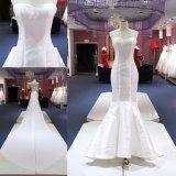 Милая Satin Русалки устраивающих платье съемные длинные поезда свадебные платье