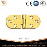 Roulement à billes en laiton à tête plate de l'intérieur de la charnière de serrure de porte (HG-1035)
