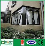 Windows appeso superiore di alluminio con doppio vetro