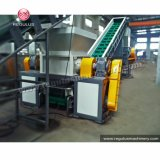 Eje &Double Shredder&Washing de la máquina plástica de la desfibradora que recicla la máquina