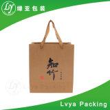 Sac à provisions environnemental de sac de papier d'emballage