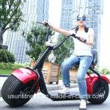 Большой электрический самокат Citycoco Harley с батареей 20ah
