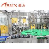 Botella de cristal líquida carbónica que aclara la máquina que capsula de relleno