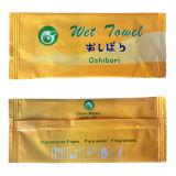 Os produtos personalizados do logotipo e do tamanho molharam o tecido