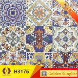 300*300mm de pared de baño de Parquet de piso de baldosa mosaico (H3176)