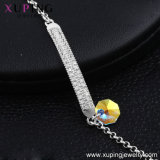 Rhodium van de Manier van Xuping Kleur kiest de Geplateerde Armband, Kristallen van Swarovski de Armbanden van de Meisjes van de Steen uit